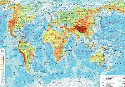 физическая карта