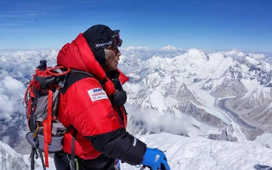 японский альпинист Yuichiro Miura