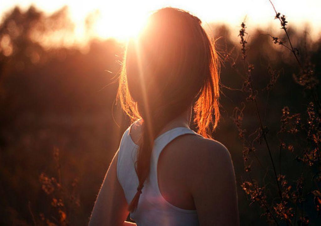 Женские фотографии со спины