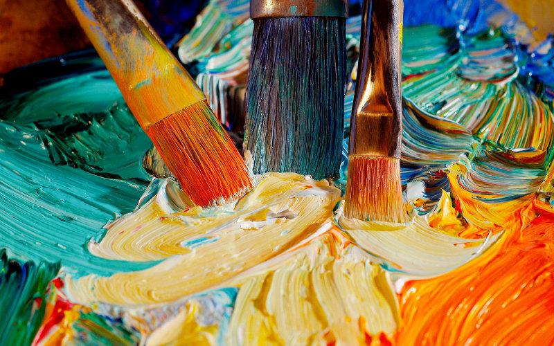Делаем краски своими руками. Самая полная подборка рецептов 56