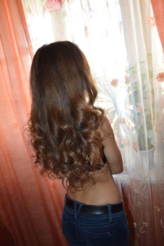 волосы до талии
