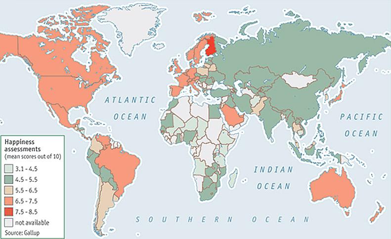 дизайнерские карты мира