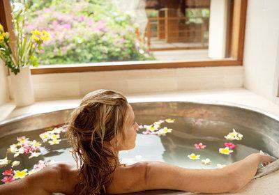 паровая ванна при сухой коже