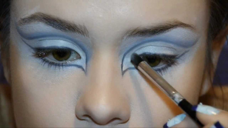 макияж снежной королевы