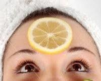 маска из лимонного сока и сливок