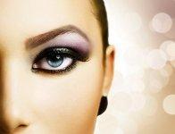 модный новогодний макияж