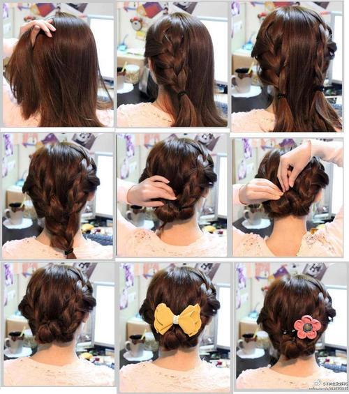 Причёски на волосы до плеч на каждый день своими руками поэтапно фото
