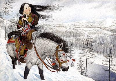 якутская богатырская сказка