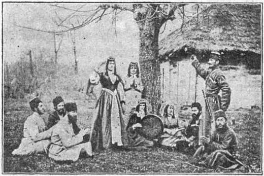 имеретинская сказка как царевичи отыскали свою похищенную мать