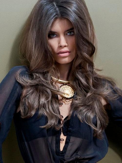 Холодные оттенки коричневого цвета волос краска