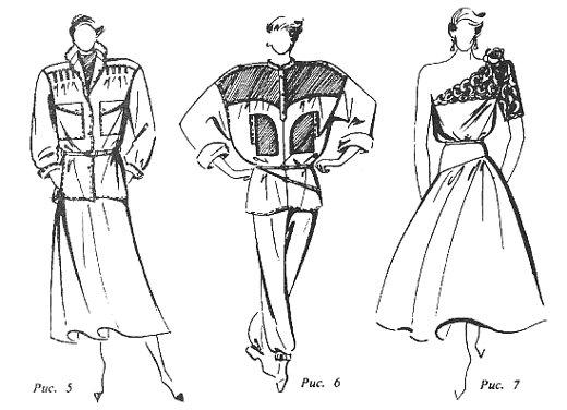 род занятий при моделировании одежды